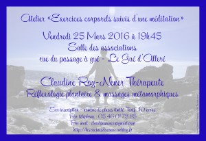 Claudine mars 2016